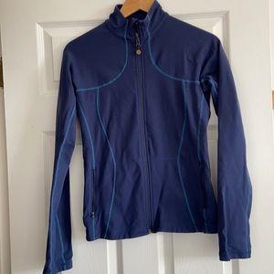 Lululemon navy blue zip top